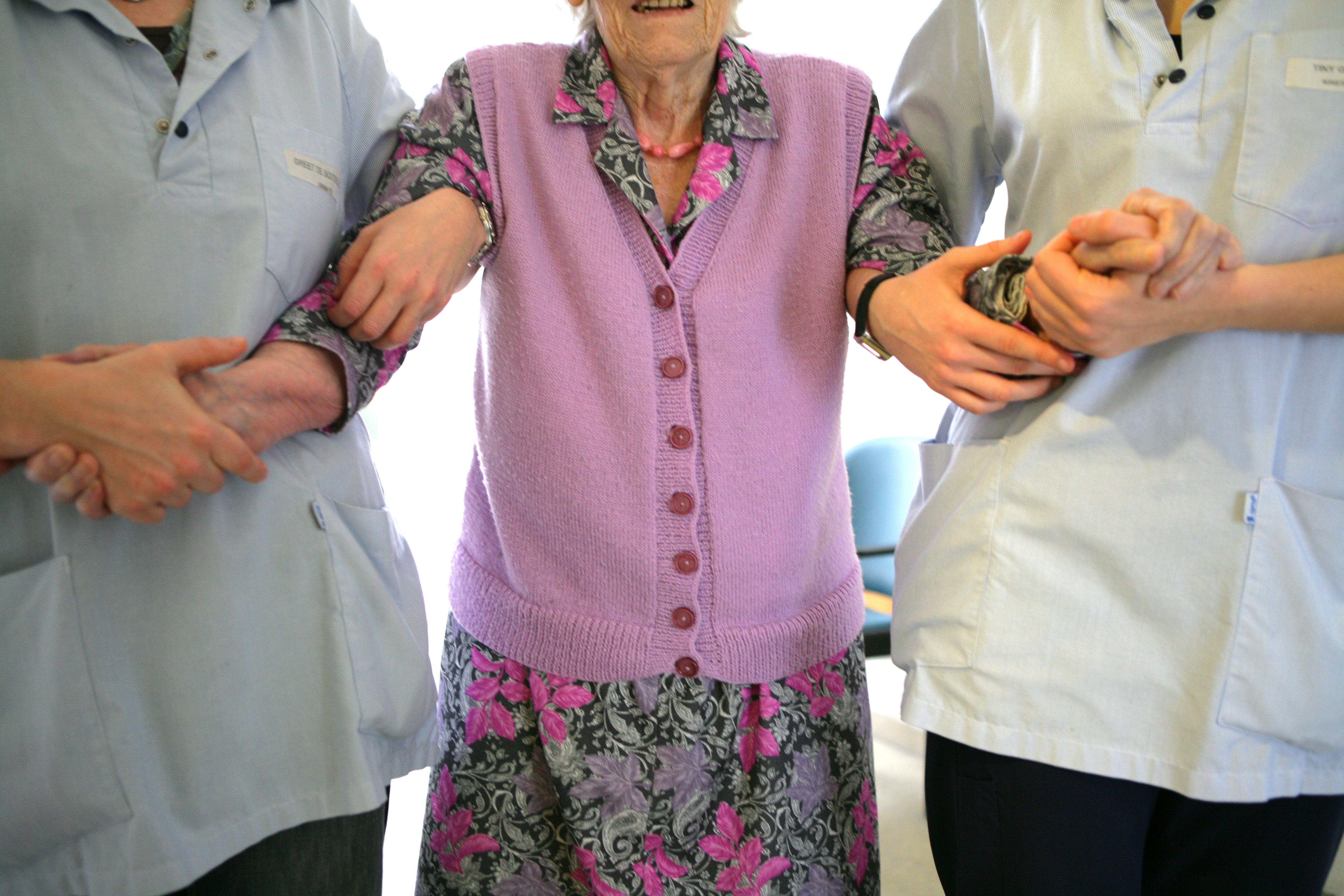 België, ouderenzorg