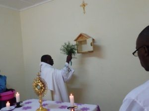 Inzegening kapel