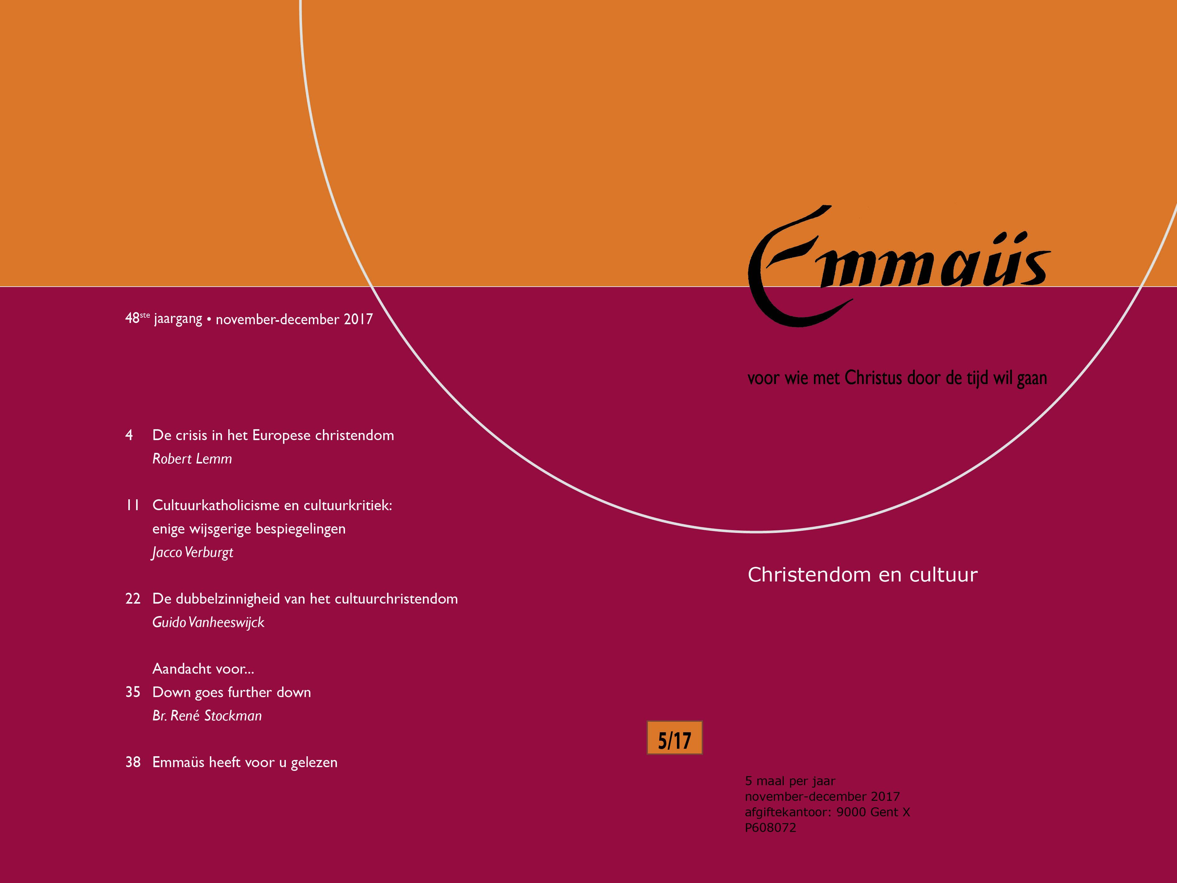 Emmaüs 2017-5, cover