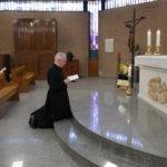 gebed van de herverkozen generale overste