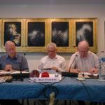 Bro. René Stockman, Mr. Jos Leysen, Bro. John O'Shea