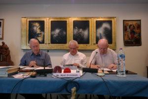 Fr. René Stockman, Mr. Jos Leysen, Fr. John O'Shea