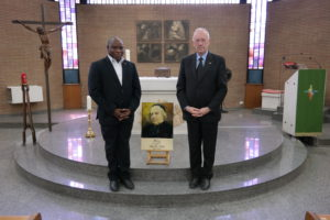 Bro. Jean-Marie Mukonkole (Vicar General) and Bro. René Stockman (Superior General)